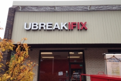Channel letters in Monroeville for UbreakIfix
