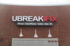 UbreakIfix2 channel letters in Uniontown