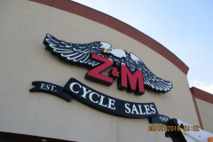 ZM Custom Sign Channel Letters in Indiana, PA