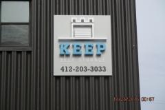 Keep Self Storage 3D sign