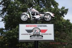 Rotation Station Custom Sign