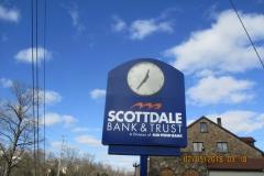 Scottdale Bank Custom Sign