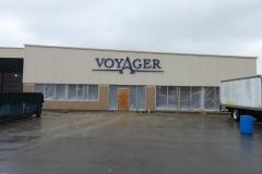 Voyager Jets Custom Sign