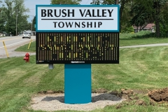 Brush-Valley-Township Outdoor Electronic Signs