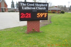 Good-Shepard Outdoor Electronic Signs