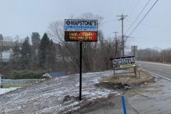 Mapstone-EMC-Pole-Sign