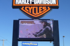 Harley Davidson Outdoor Electronic Signs