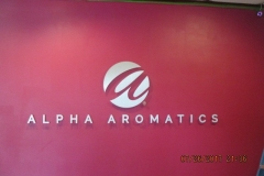 Alpha-Aromatics-Interior-Sign