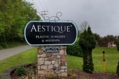 Aestique monument sign