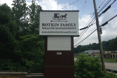 Botkin monument sign