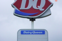 Dairy Queen Latrobe pylon signs in Pittsburgh