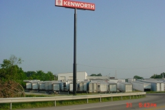 Kenworth pylon signs in Monroeville