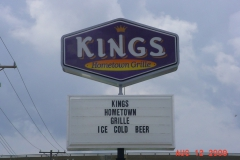 Kings pylon signs in Monroeville