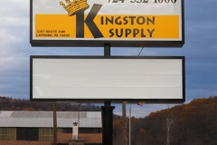 Pylon signs in Jeannette, PA for Kingston