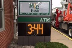 MC Bank Marion Center Outdoor Electronic Sign