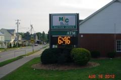 McBank Pylon Sign EMC