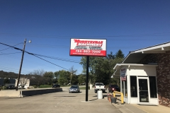Pylon signs in Pittsburgh for Murrysville Machinery