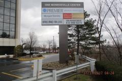 One Monroeville Pylon Sign