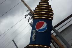 Pepsi Refurbish  pylon signs in Pittsburgh
