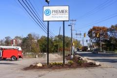 Premiere Pole Sign