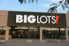 Sign installation in Pittsburgh for Big Lots