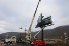Billboard Installation in Pittsburgh