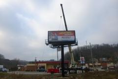 Billboard Set Head Billboard Installation