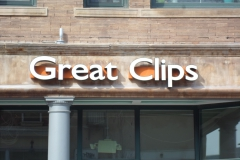 Great Clips Sign Install