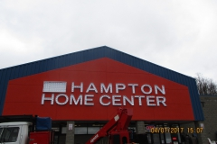 Hampton Home Center Sign Installation in Monroeville