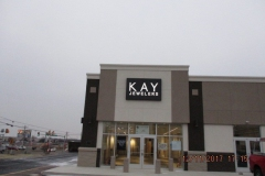 Kay Jewlers Sign Installation