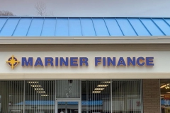 Sign installation in Jeannette, PA for Mariner Finance