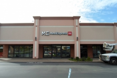 Med Express Sign Install