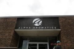 Alpha-Aromatics-Exterior-Sign
