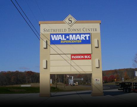 Pylon signs in Latrobe, PA