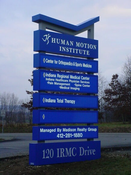 Sign Company in Pittsburgh, Butler, PA, Uniontown, Monroeville, Indiana, PA,